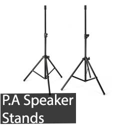 P.A Speaker Stands