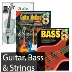 Guitar, Bass & Strings