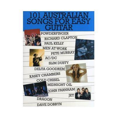 101 Australian Songs for Easy Guitar Vol 1
