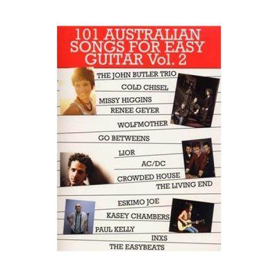 101 Australian Songs for Easy Guitar Vol. 2