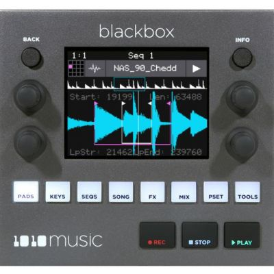 1010music Black Box Front