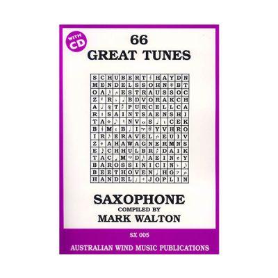 66 Great Tunes for Alto Saxophone - Mark Walton