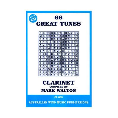 66 Great Tunes for Clarinet - Mark Walton