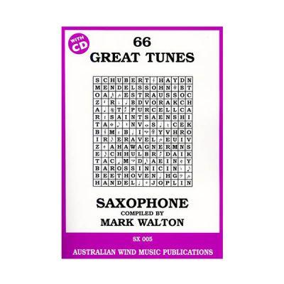 66 Great Tunes for Tenor Saxophone - Mark Walton