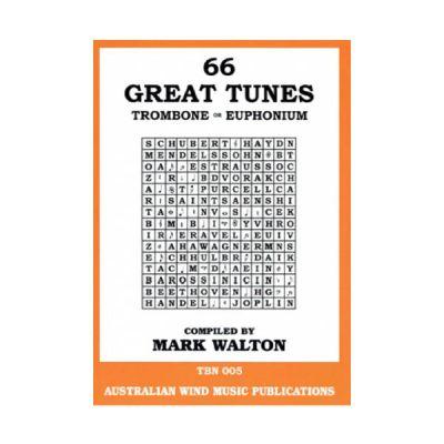 66 Great Tunes for Trombone/Euphonium - Mark Walton