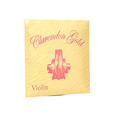 Clarendon Gold Violin Strings 4/4 Set