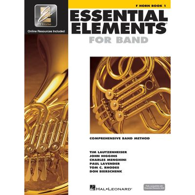 Essential Elements for Band - French Horn Book 1