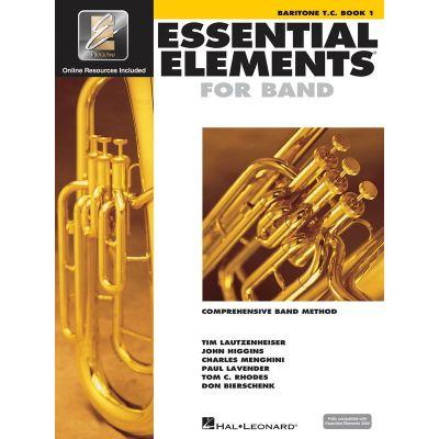Essential Elements for Band - Baritone Treble Clef Book 1