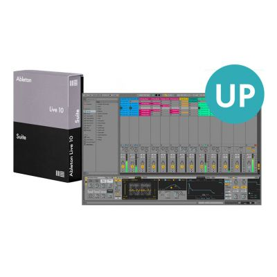 Ableton Live 10 Upgrade from intro