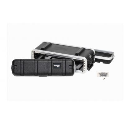 Stagg 2U Shallow ABS Rack Case