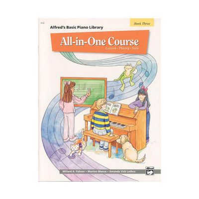 Alfred's Basic All-in-One Course Book 3