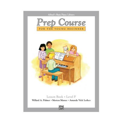 Alfred's Basic Piano Prep Course Lesson Book F
