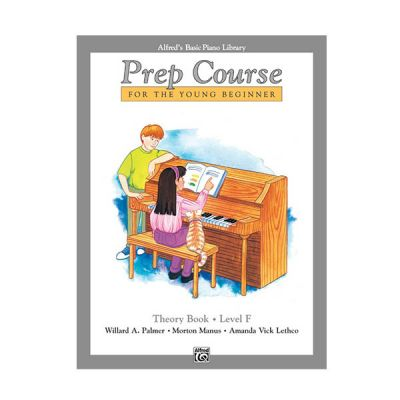 Alfred's Basic Piano Prep Course Theory Level F