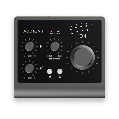 Audient iD4 MKII Front