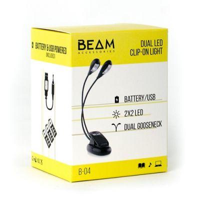 Beam Music Stand Light - Dual Arm