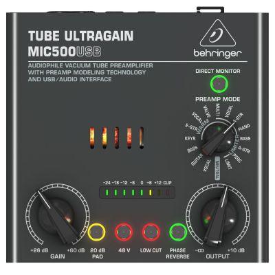 Behringer Ultragain MIC500USB