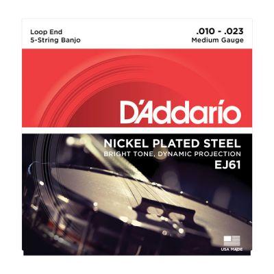 D'Addario EJ61 Banjo Strings, 10-23