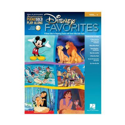 Disney Favorites Beginning Piano BK + CD