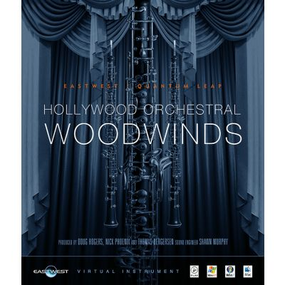 East West Hollywood Orchestral Woodwinds - Gold