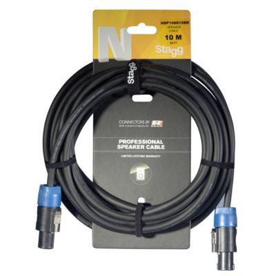 Stagg Speaker Cable 6m (Speakon-Speakon) NSP6SS15BR