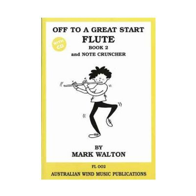 Off to a Great Start Flute Book 2
