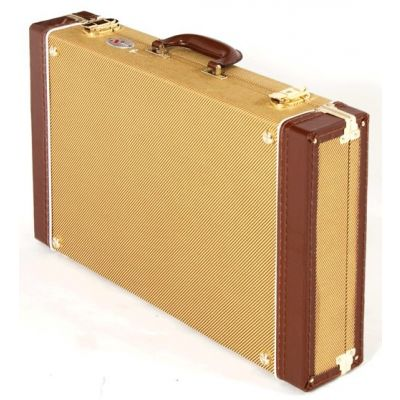 Xtreme Vintage Tweed Effects Pedal Case - Medium Size - Removable Lid PC315
