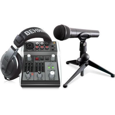 Behringer PODCASTUDIO USB 2 Recording Package