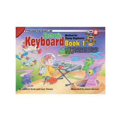 Progressive Keyboard for Young Beginners Bk1 + CD & DVD