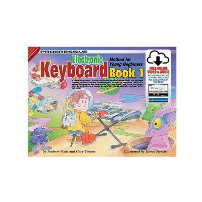 Progressive Keyboard for Young Beginners Bk1 + Online Video & Audio