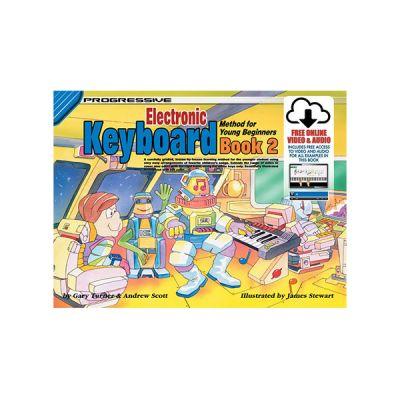 Progressive Keyboard for Young Beginners Bk2 + Online Video & Audio