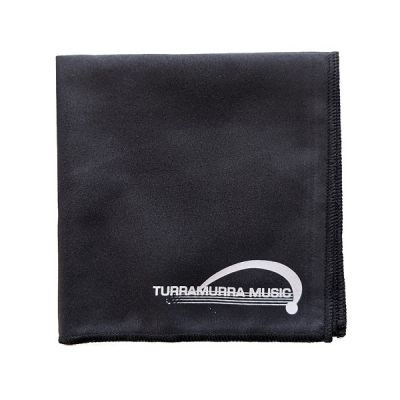 Turramurra Music Microfibre Polishing Cloth - Black