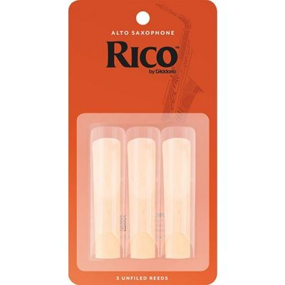 Rico Alto Sax Reeds 3 Pack