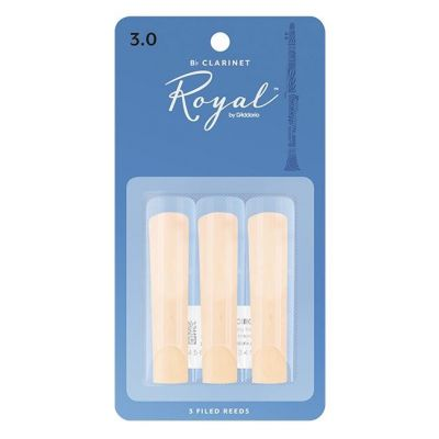 Rico Royal Clarinet Reeds 3 Pack