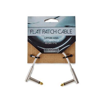 Warwick RockBoard Flat Patch Cable Sapphire Series 10cm