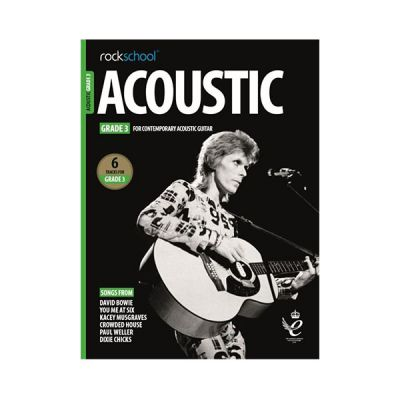 Rockschool Acoustic Guitar Grade 3 2019+