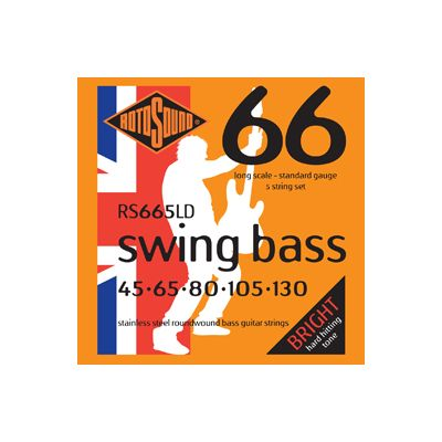 RotoSound RS665LD 5-String Bass Guitar Strings 45-130