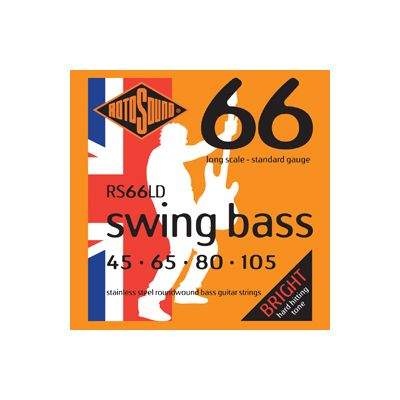 RotoSound RS66LD Bass Guitar Strings 45-105