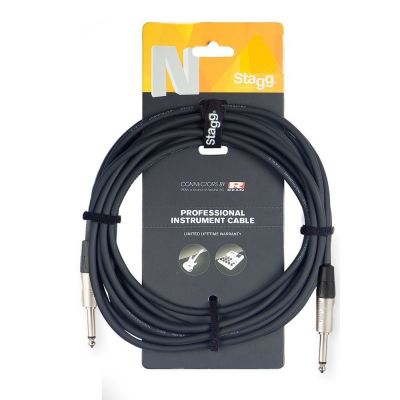 Stagg NGC3R 3m Instrument Cable