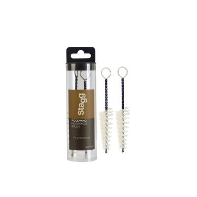 Stagg Woodwind Mouthpiece Brush (2 Pack)