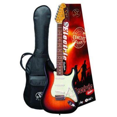 SX VES34TS 3/4 Electric Guitar