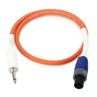 Lava Cable Tephra Speaker Cable 2ft - Jack to SpeakON
