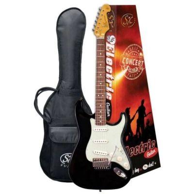 SX VES34B 3/4 Electric Guitar
